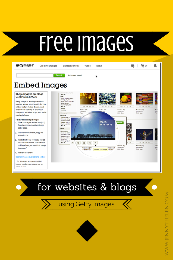 Free Images for Websites graphic
