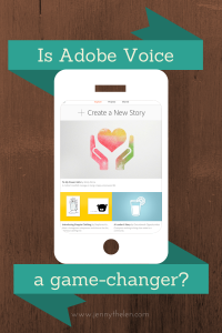 Adobe Voice mobile graphic